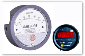 Sailsor Instrument Products - Differential Pressure Gauge